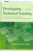 Developing Technical Training 3rd Edition 9780787988463 0787988464