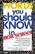 Words You Should Know in High School 2nd edition 9781593372941 1593372949