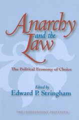 Anarchy and the Law 0 9781412805797 1412805791