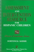 Assessment and Intervention Resource for Hispanic Children 1st edition 9781565937505 1565937503