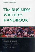 The Business Writer's Handbook, Seventh Edition 7th edition 9780312309220 0312309228