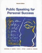 Public Speaking for Personal Success 7th edition 9780536858733 053685873X