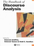 The Handbook of Discourse Analysis 1st edition 9780631205968 0631205969