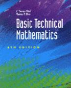 Basic Technical Mathematics 6th edition 9780827346413 0827346417