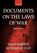 Documents on the Laws of War 3rd edition 9780198763901 0198763905