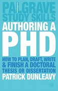 Authoring a Ph.D. 0 9781403905840 1403905843