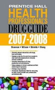 Prentice Hall Health Professional's Drug Guide 1st edition 9780135134085 0135134080