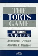 The Torts Game 0 9780735545090 073554509X