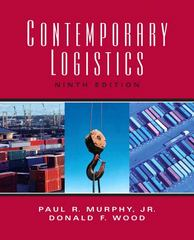 Contemporary Logistics 9th Edition 9780131562073 013156207X