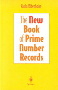The New Book of Prime Number Records 3rd edition 9780387944579 0387944575