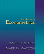 Introduction to Econometrics 0 9780201715958 0201715953