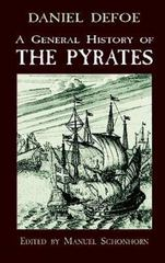 A General History of the Pyrates 1st Edition 9780486131948 0486131947