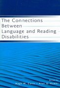 The Connections Between Language and Reading Disabilities 1st edition 9780805850024 0805850023