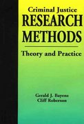 Criminal Justice Research Methods 1st edition 9781928916062 1928916066