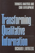Transforming Qualitative Information 1st edition 9780761909613 0761909613