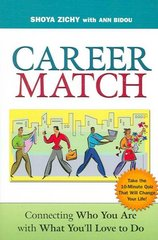 Career Match 1st Edition 9780814473641 0814473644