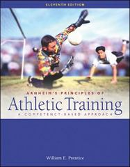 Arnheim's Principles of Athletic Training 11th Edition 9780072461756 0072461756