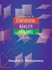Introduction to Statistical Quality Control 6th edition 9780470169926 0470169923