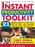 The Instant Productivity Toolkit 0 9781402203305 1402203306