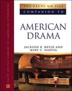 The Facts on File Companion to American Drama 0 9780816046652 0816046654