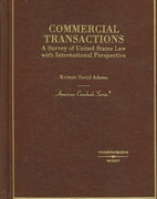 Commercial Transactions 1st edition 9780314159502 0314159509