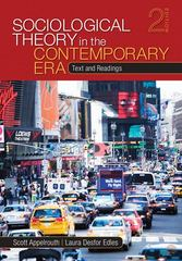 Sociological Theory in the Contemporary Era 2nd Edition 9781412987615 141298761X