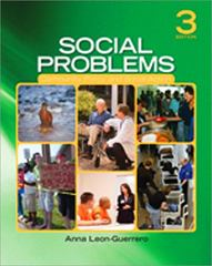 Social Problems 3rd Edition 9781412988056 1412988055