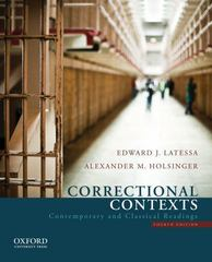 Correctional Contexts 4th Edition 9780199751464 0199751463