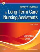 Mosby's Textbook for Long-Term Care Nursing Assistants 6th Edition 9780323075831 0323075835