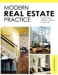 Modern Real Estate Practice 18th edition 9781427787903 1427787905