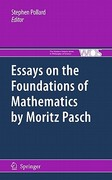 Essays on the Foundations of Mathematics by Moritz Pasch 1st edition 9789048194155 9048194156