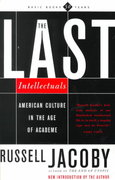 The Last Intellectuals 0 9780465036257 0465036252