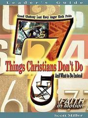 7 Things Christians Don't Do 0 9780687350148 068735014X
