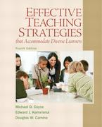 Effective Teaching Strategies that Accommodate Diverse Learners 4th Edition 9780137084708 0137084706