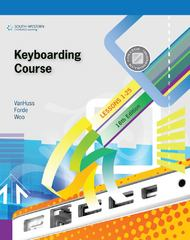 Keyboarding Course, Lessons 1-25 18th Edition 9781133170525 1133170528