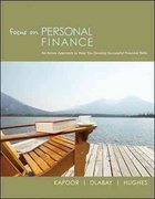 Loose-leaf Focus on Personal Finance 3rd edition 9780077398316 0077398319