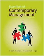 Essentials of Contemporary Management with Connect Plus 4th edition 9780077403478 0077403479