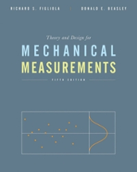 Theory and Design for Mechanical Measurements 5th Edition 9780470547410 0470547413