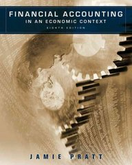 Financial Accounting in an Economic Context 8th Edition 9780470635292 0470635290