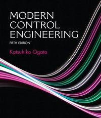 Modern Control Engineering 5th edition 9780133002256 013300225X