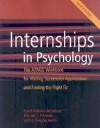 Internships in Psychology 2nd edition 9781433803550 1433803550