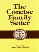 Concise Family Seder 1st Edition 9780824603182 0824603184