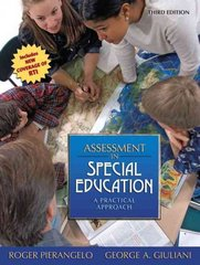 Assessment In Special Education 3rd edition 9780205608355 0205608353