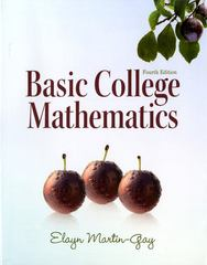 Basic College Mathematics 4th edition 9780321649409 0321649400