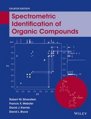 Spectrometric Identification of Organic Compounds 8th Edition 9781118916599 111891659X