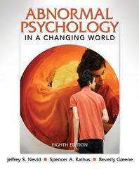 Abnormal Psychology in a Changing World 8th edition 9780205773404 0205773400