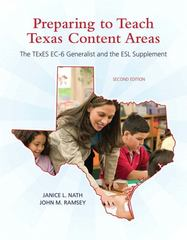 Preparing to Teach Texas Content Areas 2nd Edition 9780137040285 0137040288