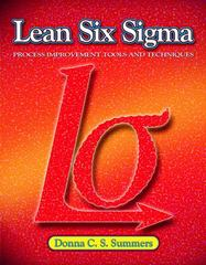Lean Six Sigma 1st Edition 9780135125106 0135125103