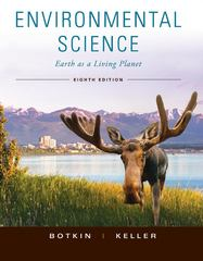Environmental Science 8th edition 9780470520338 0470520337