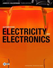Automotive Electricity and Electronics 3rd edition 9780135124062 0135124069